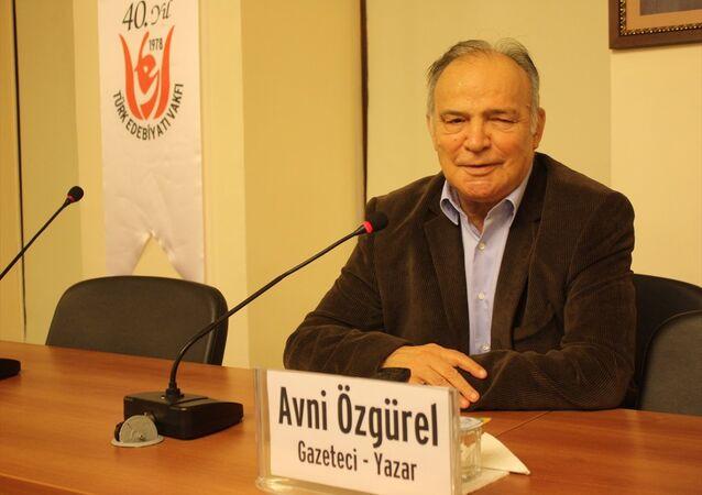 Gazeteci yazar Avni Özgürel
