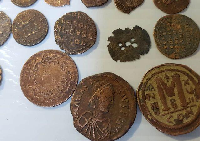 Roma ve Bizans dönemine ait sikkeler
