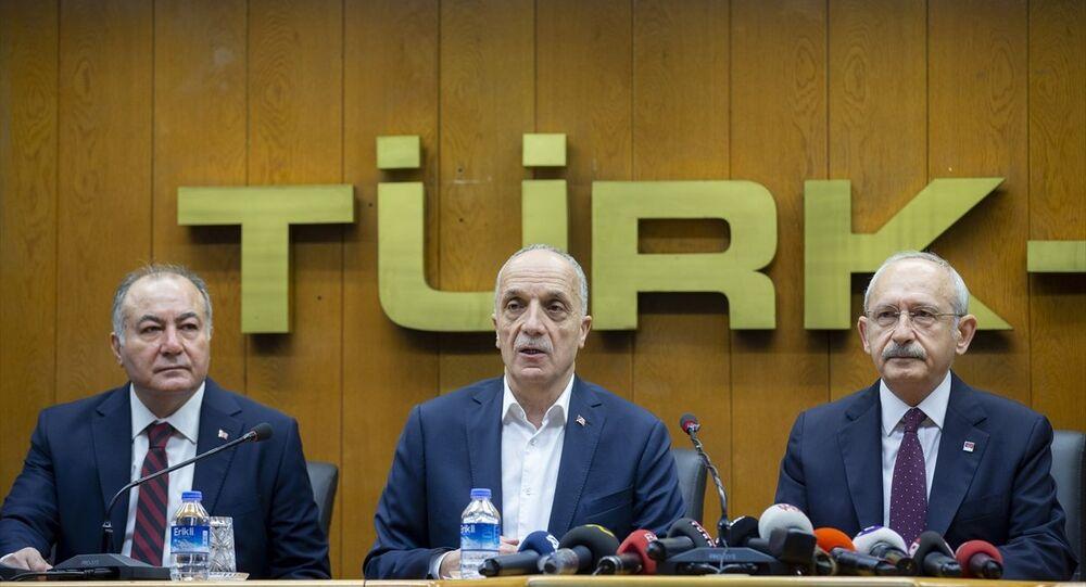 Kemal Kılıçdaroğlu - Türk-İş -  Ergün Atalay