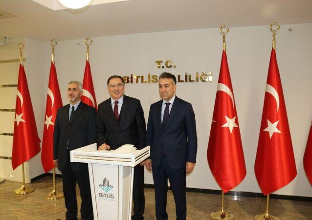Kamu Başdenetçisi Şeref Malkoç - Bitlis Valisi Oktay Çağatay