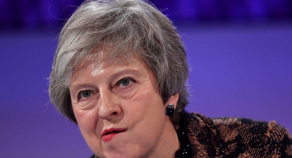 Theresa May Londra'da bir soru cevap seansında