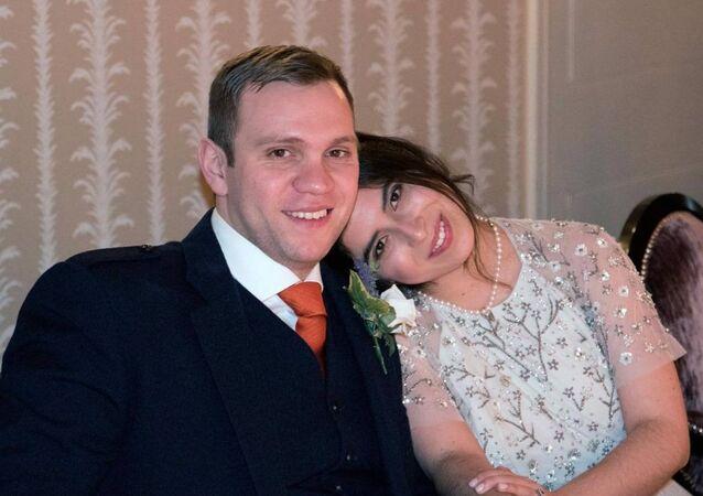 Hapis cezası verilen Matthew Hedges ve eşi Daniela Tejada