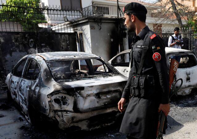 Pakistan'da intihar eylemi: 25 ölü