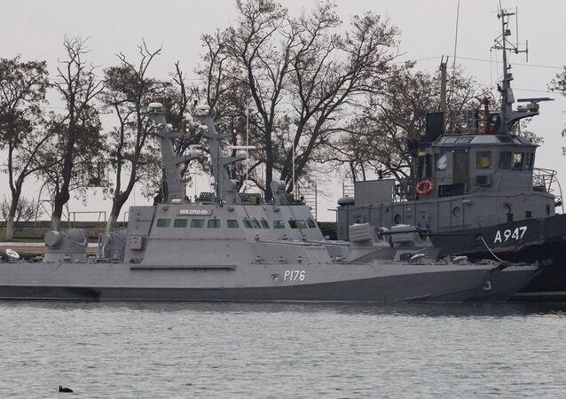 Kerç Boğazı'nda alıkonulan Ukrayna gemileri