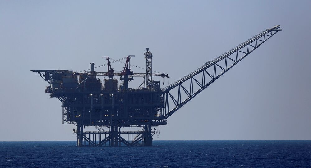 İsrail'in Akdeniz'deki doğalgaz platformu