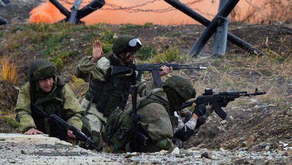 Rusya Deniz Piyade Birlikleri Günü - Sputnik Türkiye