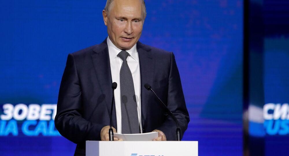 Putin: Trump, genel olarak pozitif biri