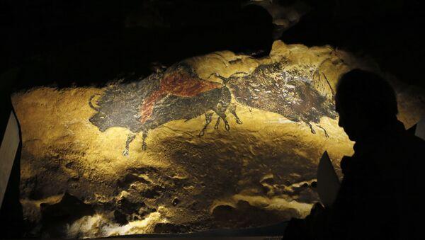 Mağara resmi - Sputnik Türkiye