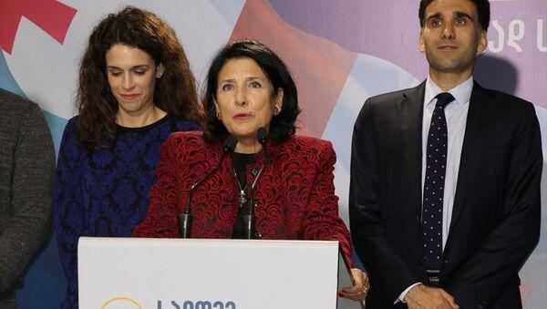 Salome Zurabişvili - Sputnik Türkiye