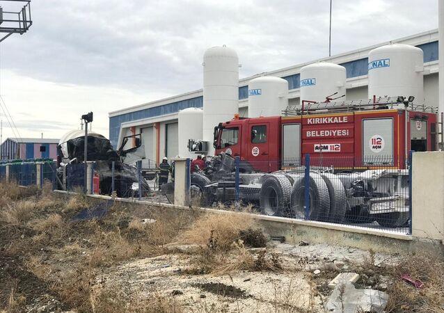 Kırıkkale, gaz dolum tesisi