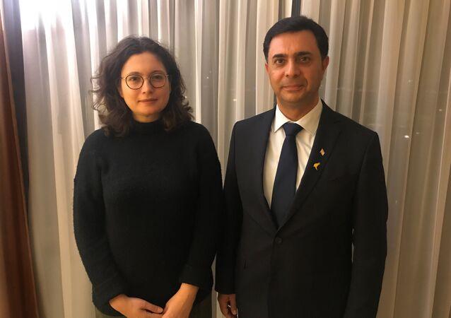Kuzey Kıbrıs Ekonomi ve Enerji Bakanı Özdil Nami, İstanbul'da Sputnik muhabiri Elif Sudagezer'in sorularını yanıtladı.