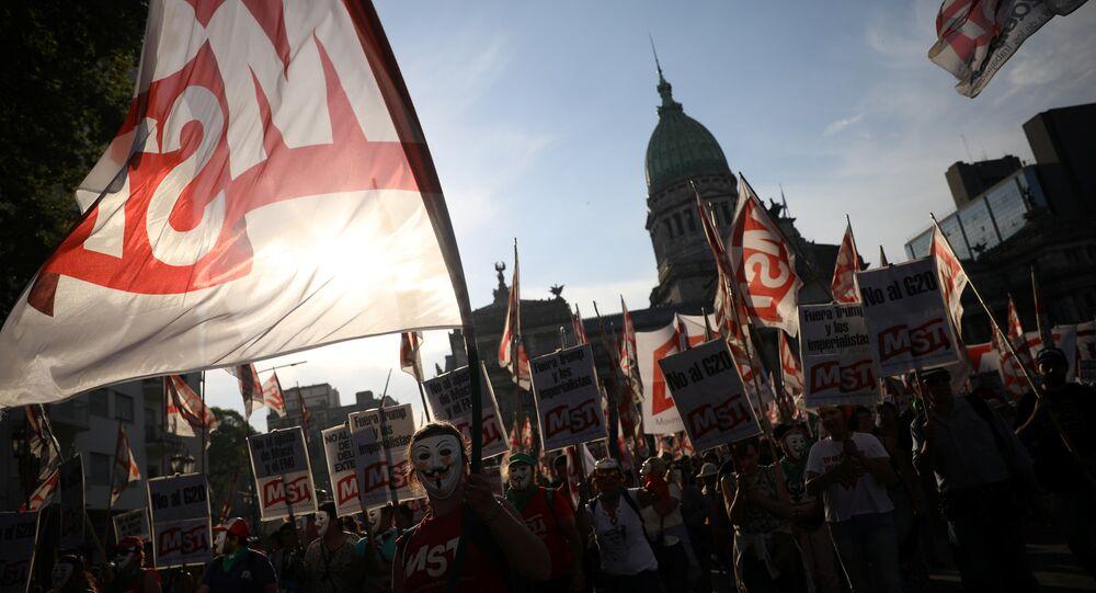 Arjantin'da G20 protestoları