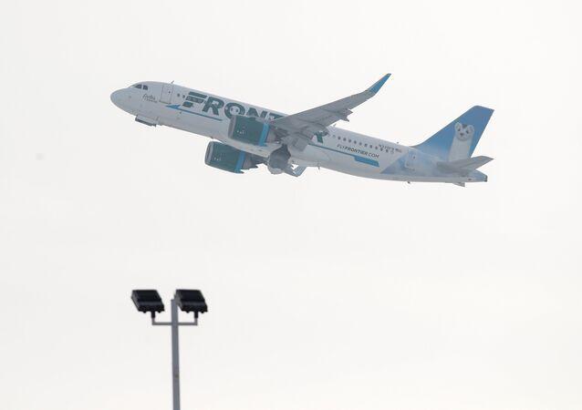 Frontier Havayolları'na ait uçak
