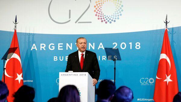 Recep Tayyip Erdoğan - G20 - Sputnik Türkiye