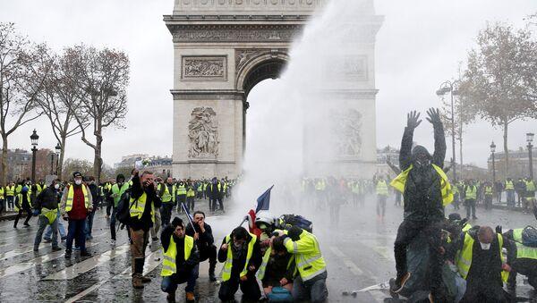 Fransa, Paris, Zafer Takı, Sarı Yelekler - Sputnik Türkiye