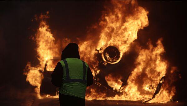 France 'Yellow Vests' protests - Sputnik Türkiye