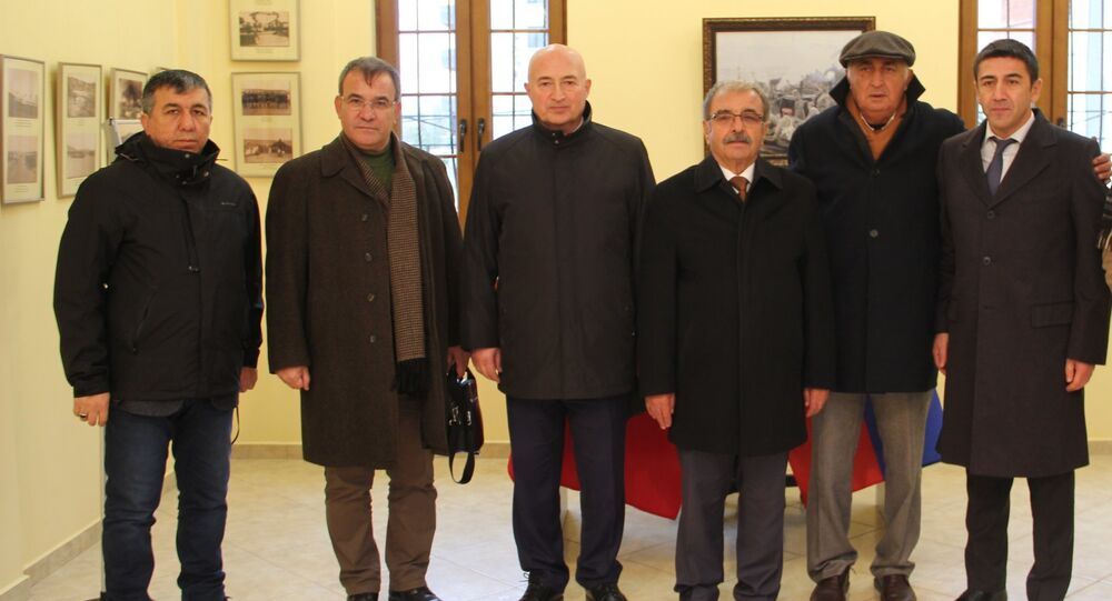 Rusya Yurtdışında Yaşayan Vatandaşlar ve Uluslararası İşbirliği Ajansı'nın Türkiye Temsilciliği, Çanakkale Onsekiz Mart Üniversitesi Türkiye-Rusya İşbirliği Araştırma ve Uygulama Merkezi'ni ziyaret etti.