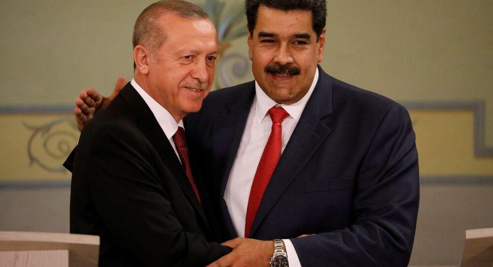 Recep Tayyip Erdoğan- Nicolas Maduro