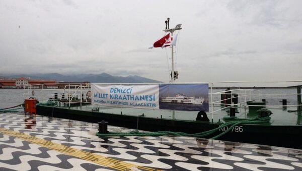 Zübeyde Hanım Eğitim ve Müze Gemisi - Sputnik Türkiye