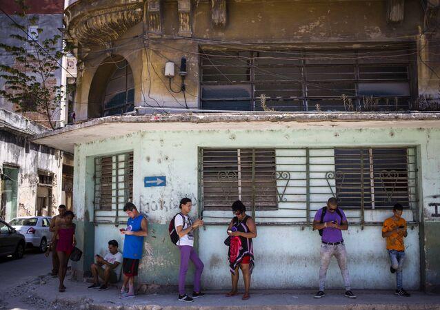 Küba- İnternet