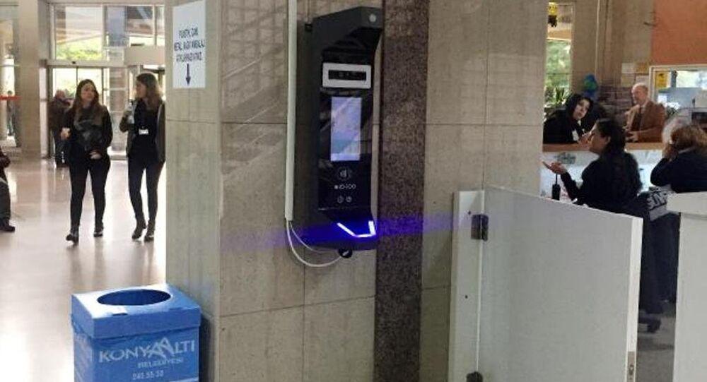 Akdeniz Üniversitesi (AÜ) Hastanesi'nde 'yüz tanıma' sistemiyle mesai kontrolü uygulaması