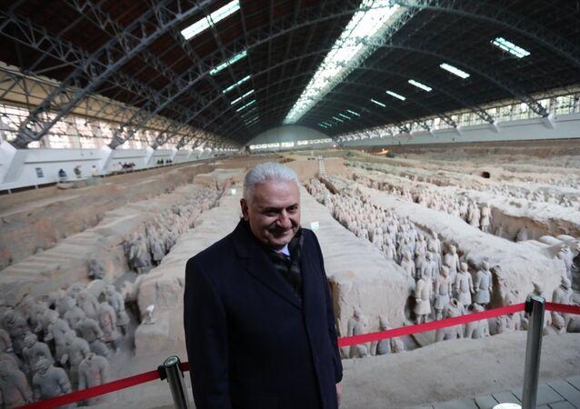 TBMM Başkanı Binali Yıldırım Çin'de
