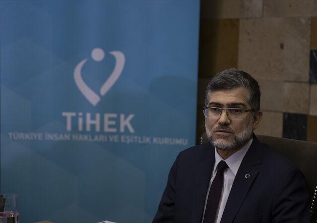 Türkiye İnsan Hakları ve Eşitlik Kurumu (TİHEK) Başkanı Süleyman Arslan