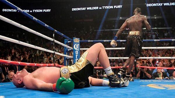 Deontay Wilder ile Tyson Fury arasındaki maç - Sputnik Türkiye