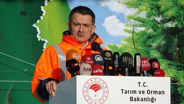 Tarım ve Orman Bakanı Dr. Bekir Pakdemirli - Sputnik Türkiye