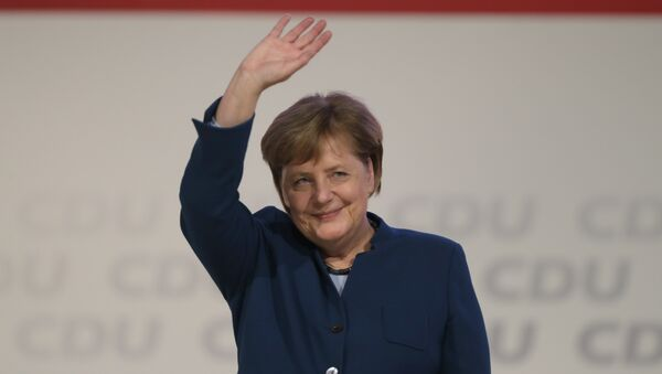 Merkel CDU lideri olarak son konuşmasını yaptı - Sputnik Türkiye