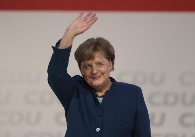 Merkel CDU lideri olarak son konuşmasını yaptı