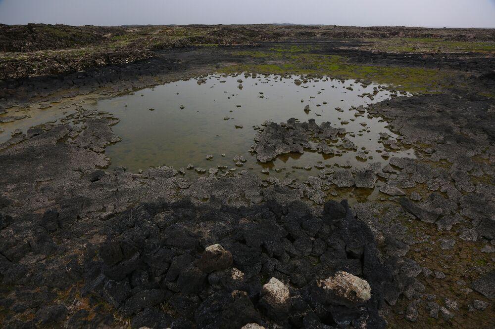 Son püskürmesini yaklaşık 100 bin yıl önce gerçekleştiren Karacadağ, bir önceki püskürmenin 600 bin yıl önce gerçekleştiği belirtiliyor.