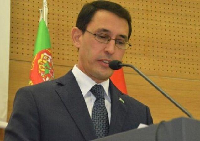 Türkmenistan'ın Ankara Büyükelçisi İsankuli Amanlıyev