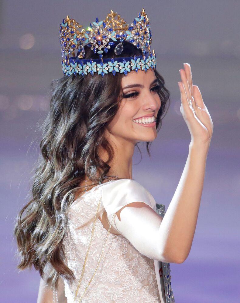 Yarışmanın galibi 26 yaşındaki Meksikalı güzel Vanessa Ponce de Leon, kazandığı için inanılmaz derecede mutlu olduğunu söyledi.