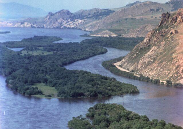 Selenga nehri.