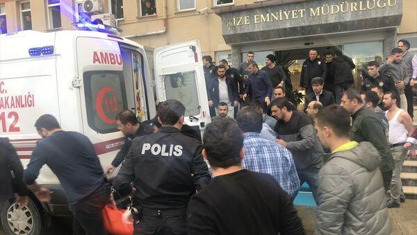 Rize Emniyet Müdürlüğü, silahlı saldırı - Sputnik Türkiye