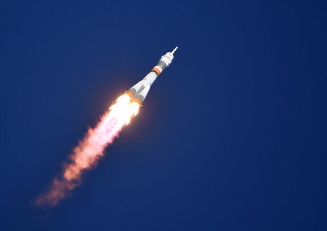 Soyuz MS-10 Launch to ISS from Baikonur Cosmodrome