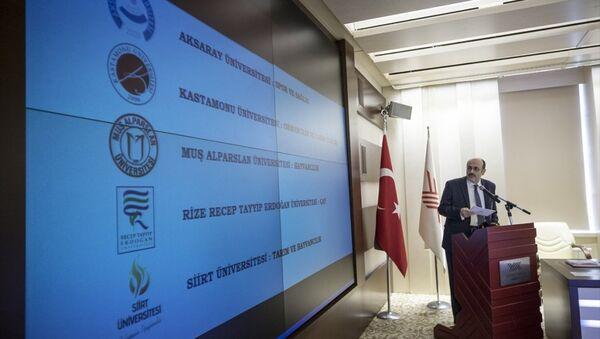 Yükseköğretim Kurulu (YÖK) Başkanı Prof. Dr. Yekta Saraç - Sputnik Türkiye