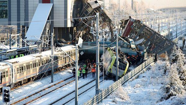 Ankara tren kazası - Sputnik Türkiye