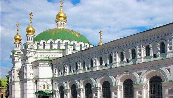 Ukrayna'da bir kilisede kavga: Bir din adamı yaralandı - Sputnik Türkiye