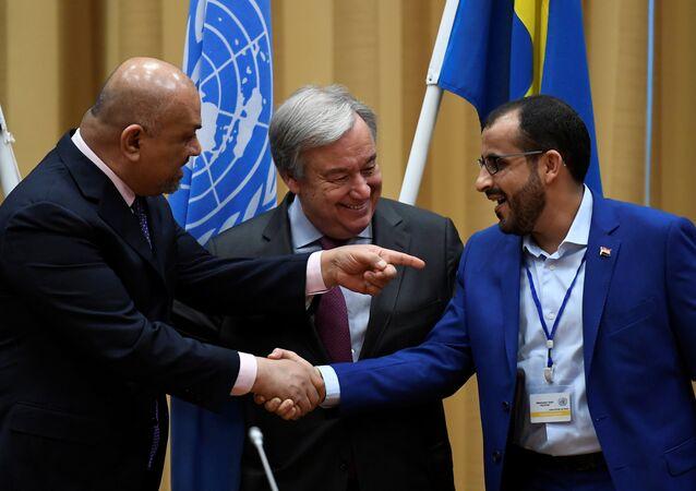 Yemen barış görüşmeleri