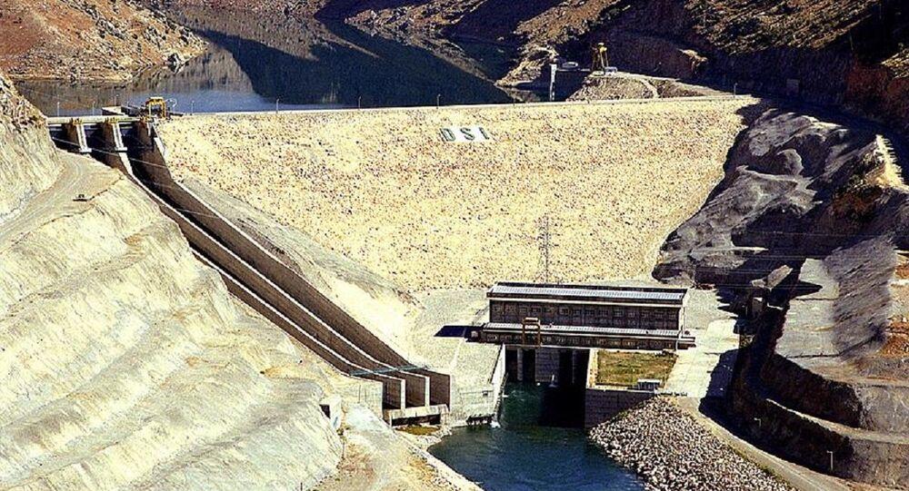 Diyarbakır'ın Eğil ilçesinde bulunan Dicle Barajı