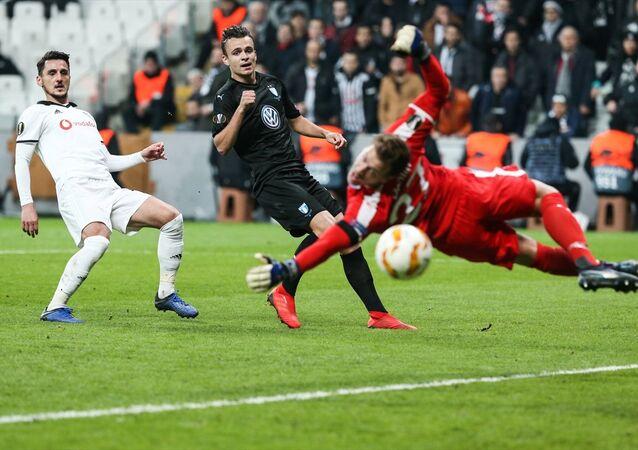 Sahasında Malmö'ye yenilen Beşiktaş, Avrupa Ligi'ne veda etti