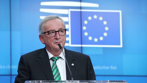Avrupa Birliği (AB) Komisyonu Başkanı Jean-Claude Juncker - Sputnik Türkiye