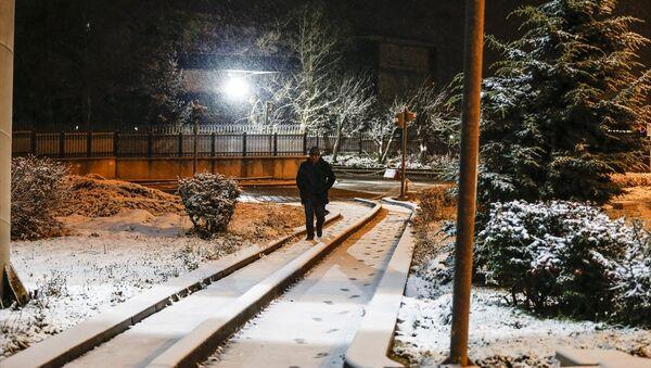 Ankara'da kar - Sputnik Türkiye