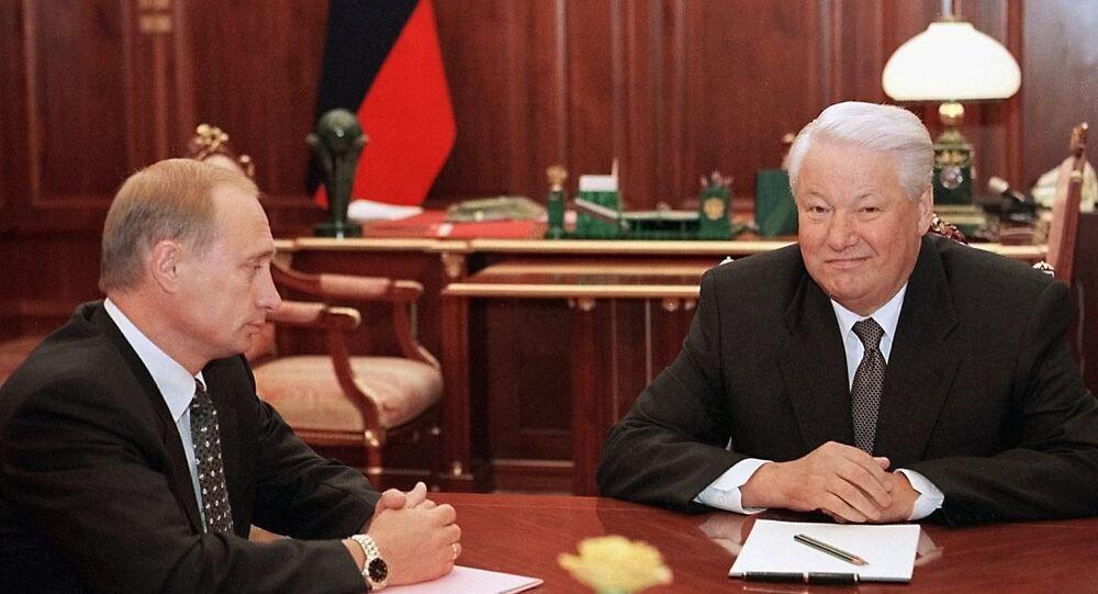 Putin ve Yeltsin