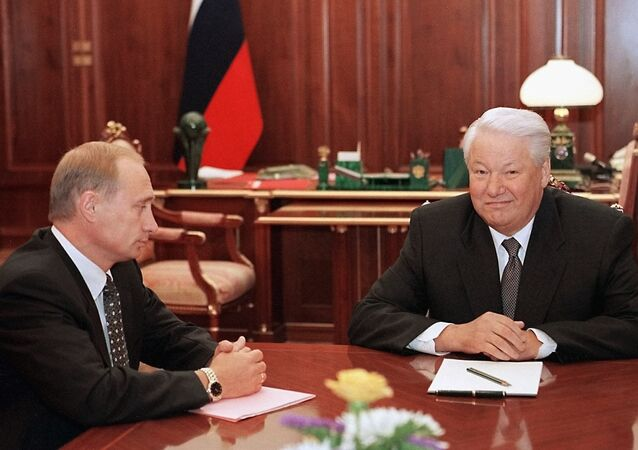 Putin ve Yeltsin