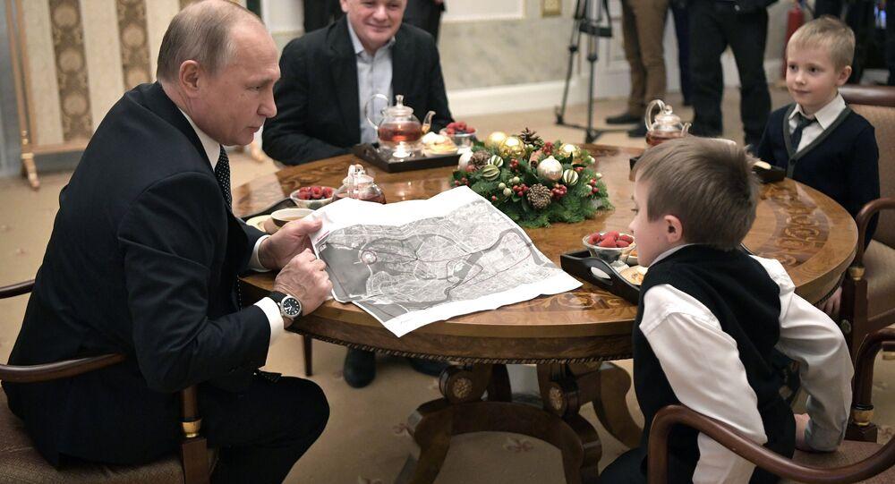 Rusya Devlet Başkanı Vladimir Putin-Artym Palyanov