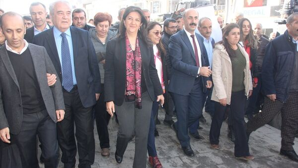 HDP Eş Genel Başkanı Pervin Buldan - Sputnik Türkiye