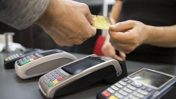 Kredi kartı- POS cihazı - Sputnik Türkiye